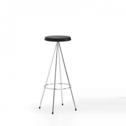 Mobles 114 Nuta Stool Polyurethane Grey