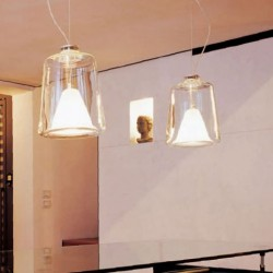 Oluce Lanternina 471 Hanging Lamp