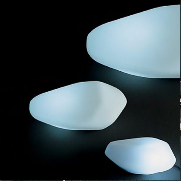 Oluce Stone of Glass Table Lamp