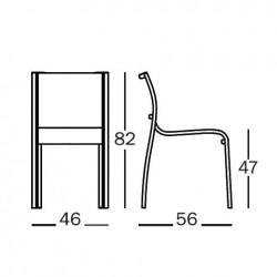 Magis Paso Doble Chair
