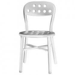Magis Pipe Chair Frame, seat and back white