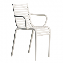 Driade PIP-e Armchair White