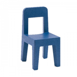 Magis Seggiolina pop Chair Blue