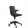 Kartell Spoon Chair Black chair - black seat (09)