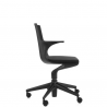 Kartell Spoon Chair Black chair - black seat (09)