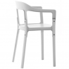 Magis Steelwood Chair White 5108