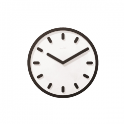 Magis Tempo Wall Clock Black
