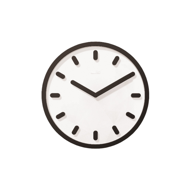 Magis Tempo Wall Clock Black