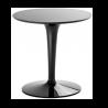 Kartell Table TipTop Mono Glossy black
