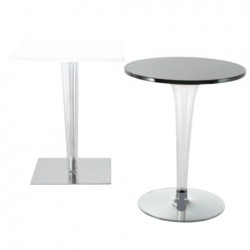 Kartell Table TopTop Polished Foot