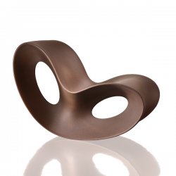 Magis Voido Rocking Chair Rust Brown