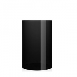 Kartell Waste Basket Smoke
