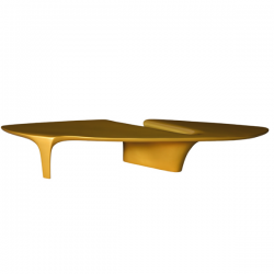 Driade Waterfall Table Gold