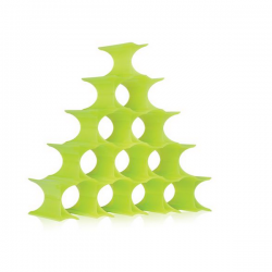 Kartell Infinity Wine Rack Green Yellow