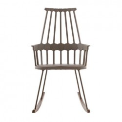Kartell Comback Rocking Chair Hazelnut brown - Oak