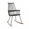 Kartell Comback Rocking Chair Black-oak