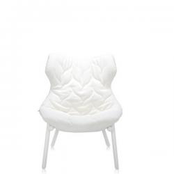Kartell Foliage Chair White - White Cloth