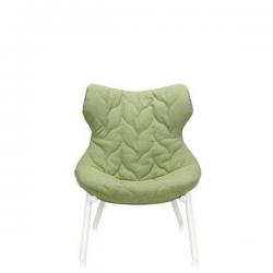 Kartell Foliage Chair White - Green Trevira
