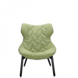 Kartell Foliage Chair Black - Green Trevira