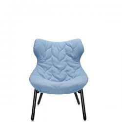 Kartell Foliage Chair Black - Blue Trevira