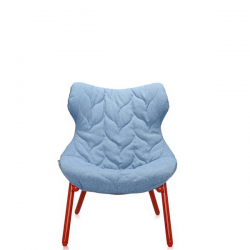 Kartell Foliage Chair Red - Blue Trevira
