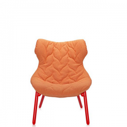 Kartell Foliage Chair Red - Orange Trevira
