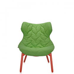 Kartell Foliage Chair Red - Green Cloth