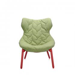 Kartell Foliage Chair Red - Gren Trevira
