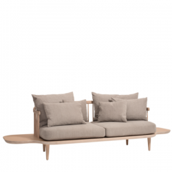 &Tradition Fly Sofa Smoke Oiled Oak