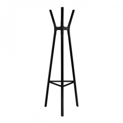 Magis Steelwood Coat Stand Black