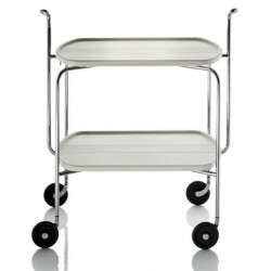 Magis Transit Folding Trolley white
