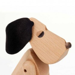 Architectmade Oscar Wooden Dog