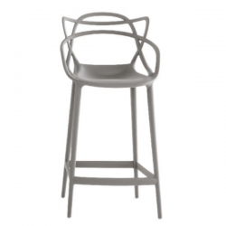 Kartell Masters Stool Light grey (07)