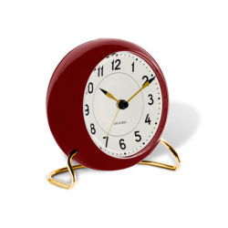 Rosendahl Station Table Clock Red