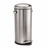 Simplehuman 30 litre retro step can