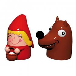 Alessi Figurine Cappuccetto Roso & Il Lupo