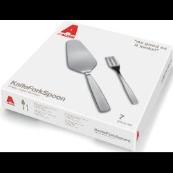 Alessi Knifeforkspoon Pastry Set