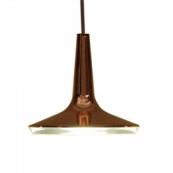 Oluce Kin 478 Hanging LED Lamp Dimmable Copper