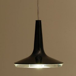 Oluce Kin 478 Hanging LED Lamp Dimmable Black