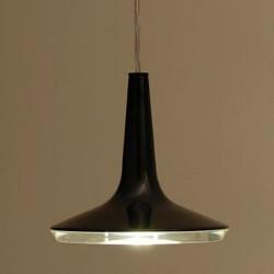 Oluce Kin 478 Hanging LED Lamp Dimmable Black