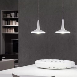 Oluce Kin 478 Hanging LED Lamp Dimmable White