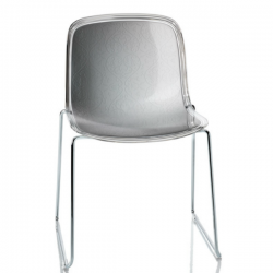 Magis Troy Chair Sled Polycarbonate