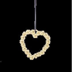 Rosendahl Flower Heart Gold Plated