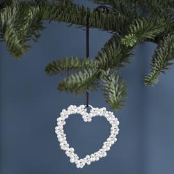 Rosendahl Flower Heart Silver Plated