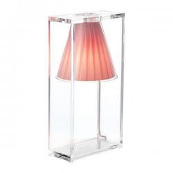 Kartell Light-Air Table Lamp Light Pink