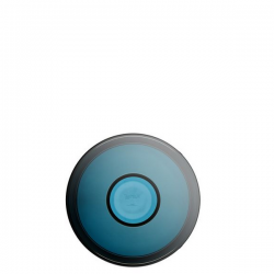 Kartell Shibuya Vase Grey-smoke-blue