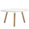 Normann Copenhagen Tablo Table Large White / Ash