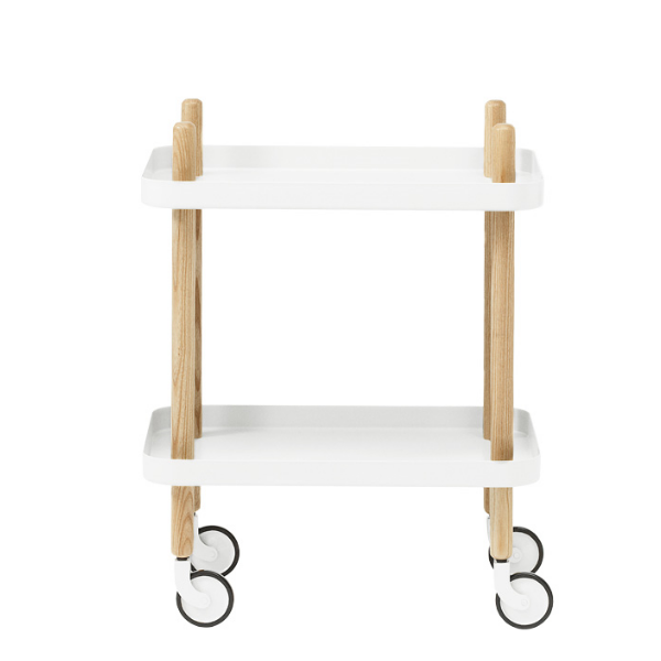 Normann Copenhagen Block Trolley White