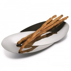 Alessi Octave Bread and Breadstick Basket