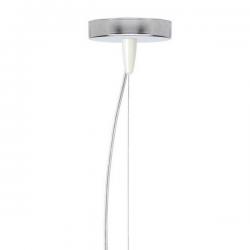 Kartell E Hanging Lamp  Gloosy White